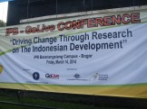 The conference banner
