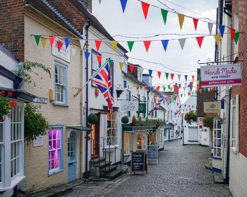 lymington-southern-england
