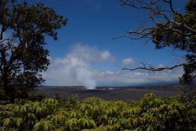 Kilauea Volcano in 2016