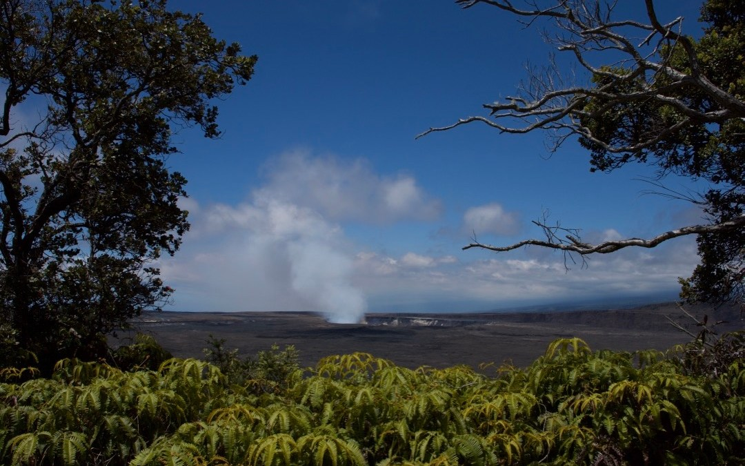 Hiking the Kilauea Iki Trail