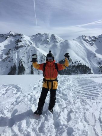 Mario at the top of Silverton Colorado – inspiring how Live Real Life was born