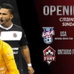 Ontario Fury vs Mexico & Team USA vs the Las Vegas Legends in MASL preseason exhibition games on Sun Oct 19th