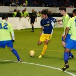 Turlock Express at Sacramento Surge in arena soccer action 11-22