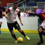 Lancers take on the Heat on Dec 6th, 2014 indoor soccer