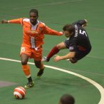 Harrisburg Heat at Syracuse for indoor arena soccer game