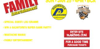 Thruway Rivals: Syracuse at Rochester Lancers Jan 25th