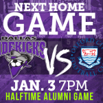 Dallas hosts Oxford FC on Jan 3rd