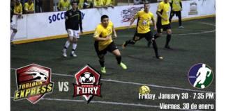 Ontario at Turlock on Jan 30th MASL arena soccer