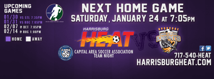 Syracuse Silver Knights at Harrisburg Heat