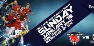Tulsa/Chicago rematch on Jan 18th MASL soccer