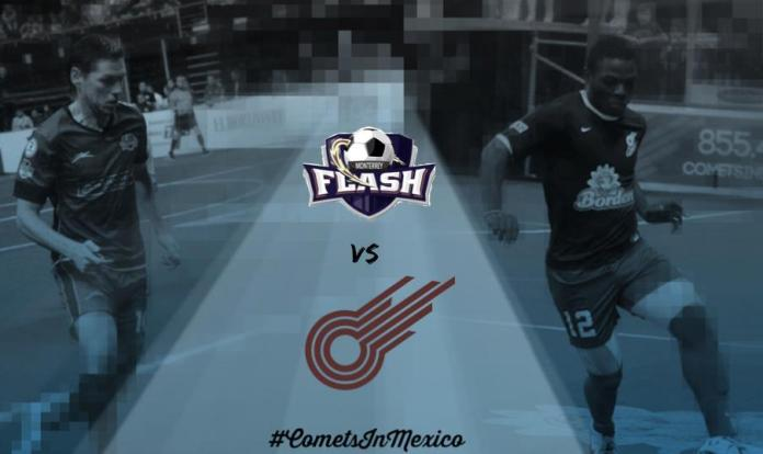 Missouri Comets at Monterrey Flash 5:05pm CT Jan 25th