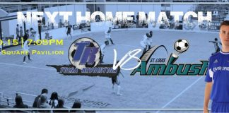 St Louis Ambush at Tulsa Revolution Feb 20th