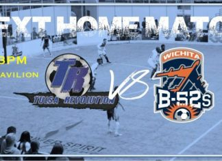 Wichita B52s at Tulsa Revolution Feb 22nd 3pm CT