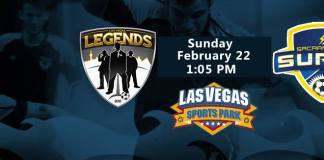 Sacramento Surge at Las Vegas Legends