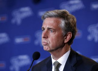 Tigers GM Dave Dombrowski 2015 pre-season press conference watch video