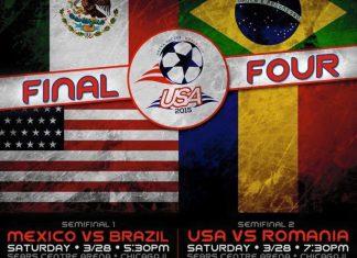 World Cup 2015: USA vs Romania Mar 28th (semifinals) 7:30pm CST