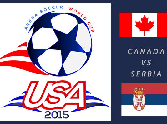 World Cup 2015: Serbia vs Canada Mar 23rd 7:30pm ET
