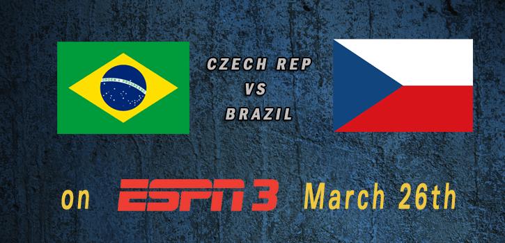 البرازيل والتشيك بث مباشر