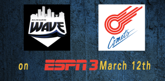 ESPN GotW: Midwest Playoffs: Milwaukee Wave at Missouri Comets March 12th