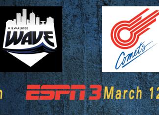 ESPN GotW: Midwest Playoffs: Milwaukee Wave at Missouri Comets March 12th