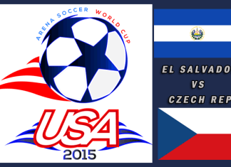 World Cup 2015: El Salvador vs Czech Republic Mar 23rd 5:30pm PT