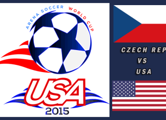 World Cup 2015: Czech Republic vs USA Mar 25th 7:30pm PT