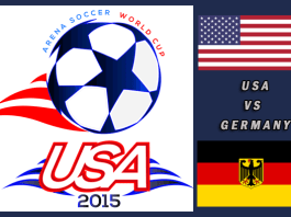 World Cup 2015: US vs Germany Mar 27th 7:30pm CT (quarterfinals)