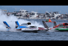 H1 Unlimited hydroplane racing video LIVE from the Madison Regatta