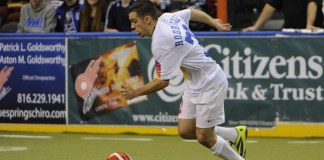 MASL Central: Cedar Rapids visits Missouri Nov 6th, 7:35pm watch live video streaming