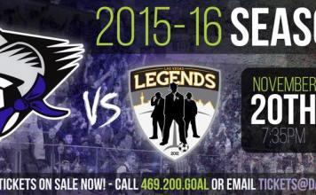 Las Vegas Legends at Dallas Sidekicks 7:35pm live video streaming