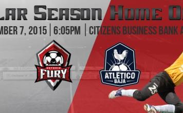 Atletico Baja at Ontario Fury Nov 7th live video streaming