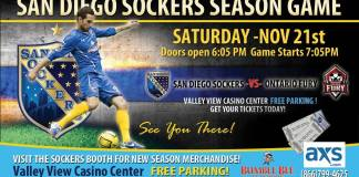 watch live streamed sports online MASL West: Ontario at San Diego Sat, Nov. 21st 7:05 pm PT