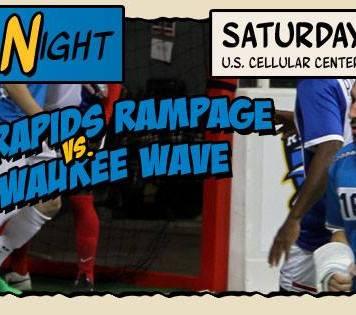 MASL: Milwaukee Wave at Cedar Rapids Rampage Dec 12th, 7:05pm