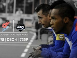 MASL: Milwaukee Wave at Missouri Comets Dec 4th at 7:05pm CT watch live video streaming soccer on Go Live Sports Cast