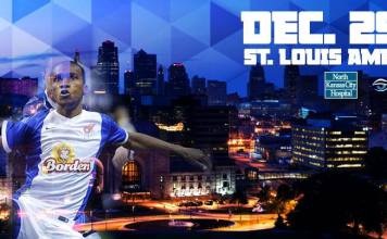 MASL Central: St Louis Ambush at Missouri Comets Dec 29th 7:35pm CT