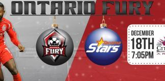 MASL West Division: Tacoma at Ontario Fury Dec 18th