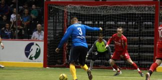 Ontario Fury at San Diego Sockers Dec 19th, 2015