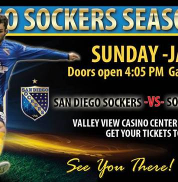 MASL West Div: Sonora de Soles at San Diego Sockers Jan 17th 5:05pm PT watch live streaming video arena soccer