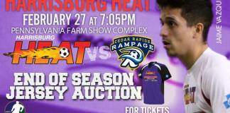 Cedar Rapids at Harrisburg Heat Sat, Feb 27th 7:05 pm