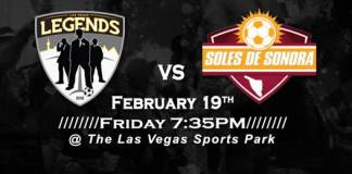 MASL West Div: Sonora De Soles at Las Vegas Legends Feb 19th, 2016, 7:35pm