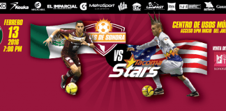 Tacoma Stars at Soles de Sonora MASL arena soccer Feb 13th 7:05pm