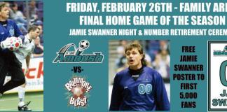 Baltimore Blast at St Louis Ambush Feb 26th 2016 7:35pm CT