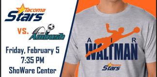 MASL West: St Louis at Tacoma Stars Feb 5th, 2016 at 7:35pm