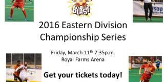 Playoffs: Syracuse at Baltimore Blast, Mar 11, 7:35 pm ET