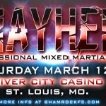 watch live online Shamrock FC MMA Fights March 12 2016