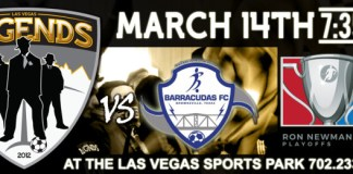 MASL Playoffs Div: Brownsville at Las Vegas Legends Mar 14th, 2016, 7:35pm