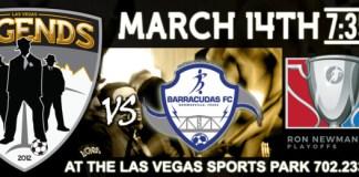 MASL Playoffs Div: Brownsville at Las Vegas Legends Mar 14th, 2016, 7:35pm
