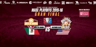 MASL CHAMPIONSHIP: Baltimore Blast at Soles de Sonora MASL arena soccer April 15th 8:05pm MST