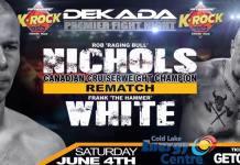 BOXING: Dekada Premiere Fight Night pro boxing webcast June 4th 9:30pm MDT