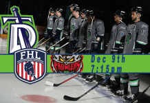 Port Huron Prowlers at Danbury Titans 12/9/2017 7:15 PM watch live streaming hockey video